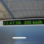 Maglev doing 300 KPH (does 430 KPH on week days)