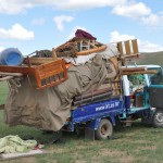 Nomad family moving Ger to autumn location - Mongolia