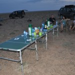 First nite camp - Gobi Desert, Mongolia