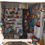 Market - Kharkorin, Mongolia (open up the door of the sea container)