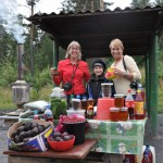 Roadside vendor- Trans-Siberian Highway