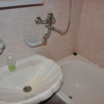Ingenious - long swinging spout services tub and basin