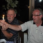 Gordy passes the torch to Ken - Krasnoyarsk, Russia