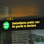 Clearing customs - Riga, Latvia