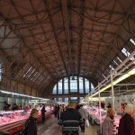 Market (converted from old Zeppelin hangar dating from WWII) - Riga, Latvia