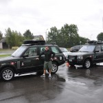 We pick up Range Rovers from dealership - Riga, Latvia