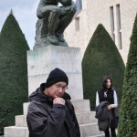 'The Thinker' by Rodin - Paris, France