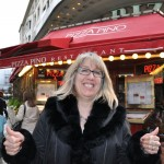 Ellen's favorite restaurant on Champs Elysees - Paris, France