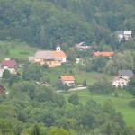 Slovenia - beautiful hills, valleys and villages