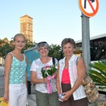 Ladies bid adieu to Hvar, Croatia