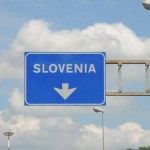 Follow signs to Slovenia
