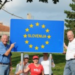 We cross Slovenia border