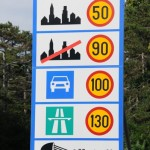 Speed limits - Slovenia