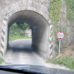 Narrow tunnel - Slovenia