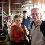 Aboard ferry - Hvar to Korcula, Croatia