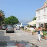 Slowly progressing toward hotel - Korcula, Croatia