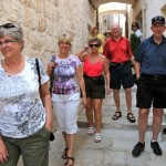 Ready to find a good restaurant - Korcula, Croatia