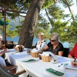 Breakfast - Korcula, Croatia