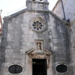Old church- Korcula, Croatia