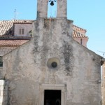 Oldest church - Korcula, Croatia
