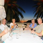 Dinner - Korcula, Croatia
