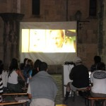 Outdoor movie free to residents - Korcula, Croatia
