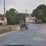 Horse cart - rural Bulgaria