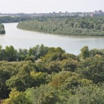 Confluence of Sava and Danube Rivers - Belgrade, Serbia