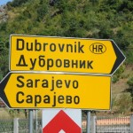 Which way to Sarajevo, Bosnia?