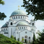 New (still under construction) Orthodox church - Belgrade, Serbia