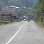 Typical road - Serbia