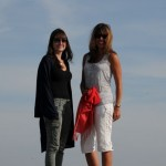 Kelly and Stephanie on top of the world - Mount Lovcen, Cetanje, Montenegro