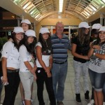 Canada hats for young ladies out on the town - Podgorica, Montenegro