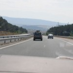 New divided highway - Bulgaria