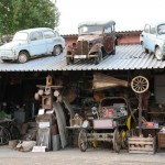 Neat collection of vintage cars - Bulgaria