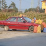Roadside vendor - Bulgaria