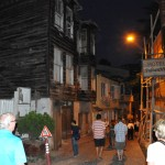 Walking to restaurant for dinner - Istanbul, Turkey