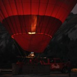 Preparing balloon for flight; 6:00 AM - Cappadocia, Turkey