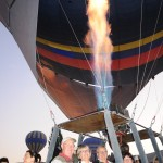 Final shot of hot air; ready for flight - Cappadocia, Turkey