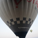 Neighbouring balloon is really close! We collided! - Cappadocia, Turkey