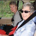 Deb and Marilyn ready for another adventure - Bakuriani, Georgia