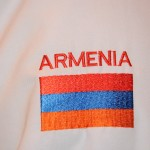 Chef's embroidered sleeve - Yerevan, Armenia