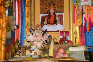 Photo of Chinese appointed Panchen Lama; Tashilunpo Monastery - Shigatse, Tibet