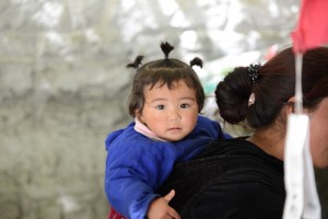 Really cute Tibetan girl - Shigatse, Tibet