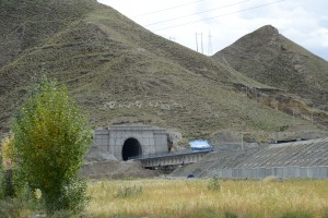 Extension of high speed railway from Lhasa to Shigatse, Tibet