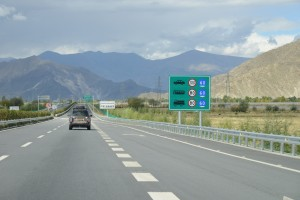 Higway gets better and better as we near Lhasa - Tibet