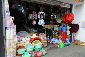 Lots of small shops - Lhasa, Tibet